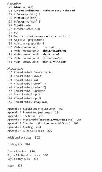 preposições de inglês no livros para aprender inglês