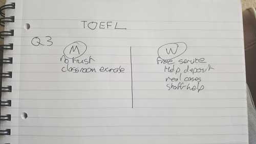 Cambridge-simulacao-de-TOEFL-pergunta-3-notas