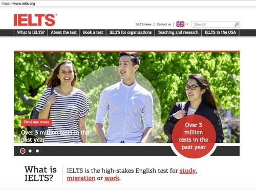 IELTS-Homepage