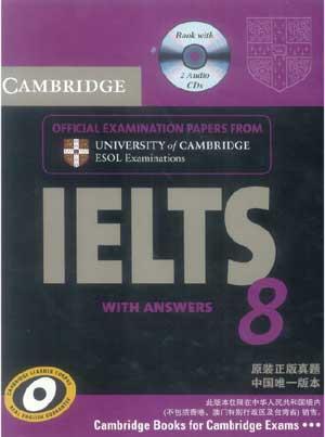 IELTS Livro Cambridge 8 Para A Prova Ingles IELTS, um livro essencial de exames IELTS reais para ajudar a treinar seu inglês e preparar