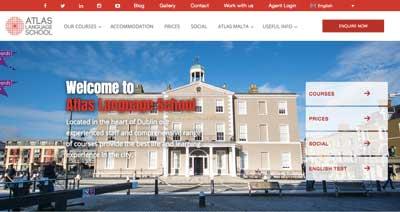 Fora de Atlas Language School Dublin Escolas de Ingles em Dublin