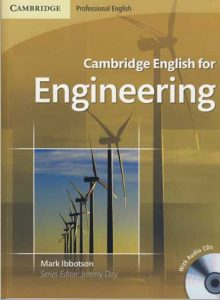 Inglês para Engenharia Cambridge English for Engineering, um livro bom para aprender ingles por engeneiros