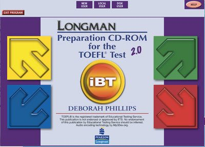 Longman TOEFL iBT simulacao