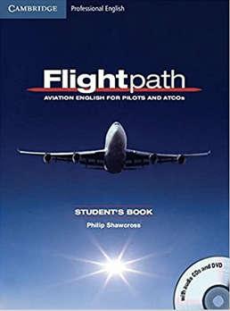 é outro curso para pilotos e controladores de tráfego aéreo que você pode estudar independentemente. O livro é para aqueles que precisam do nível 4 de inglês da ICAO para trabalhar na indústria