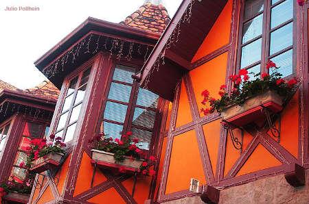 Como São Feitas as Casas nos Estados Unidos casa no sul do brasil com estilo alemão