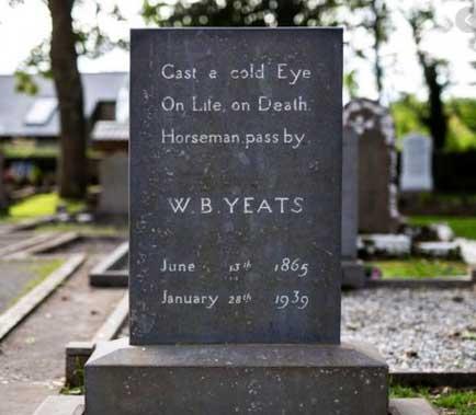Poemas-Faceis-Para-Aprender-Inglês-sepultura-de-WB-Yeats-
