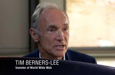 Por que o inglês é considerado uma língua internacional Tim-Berners-Lee