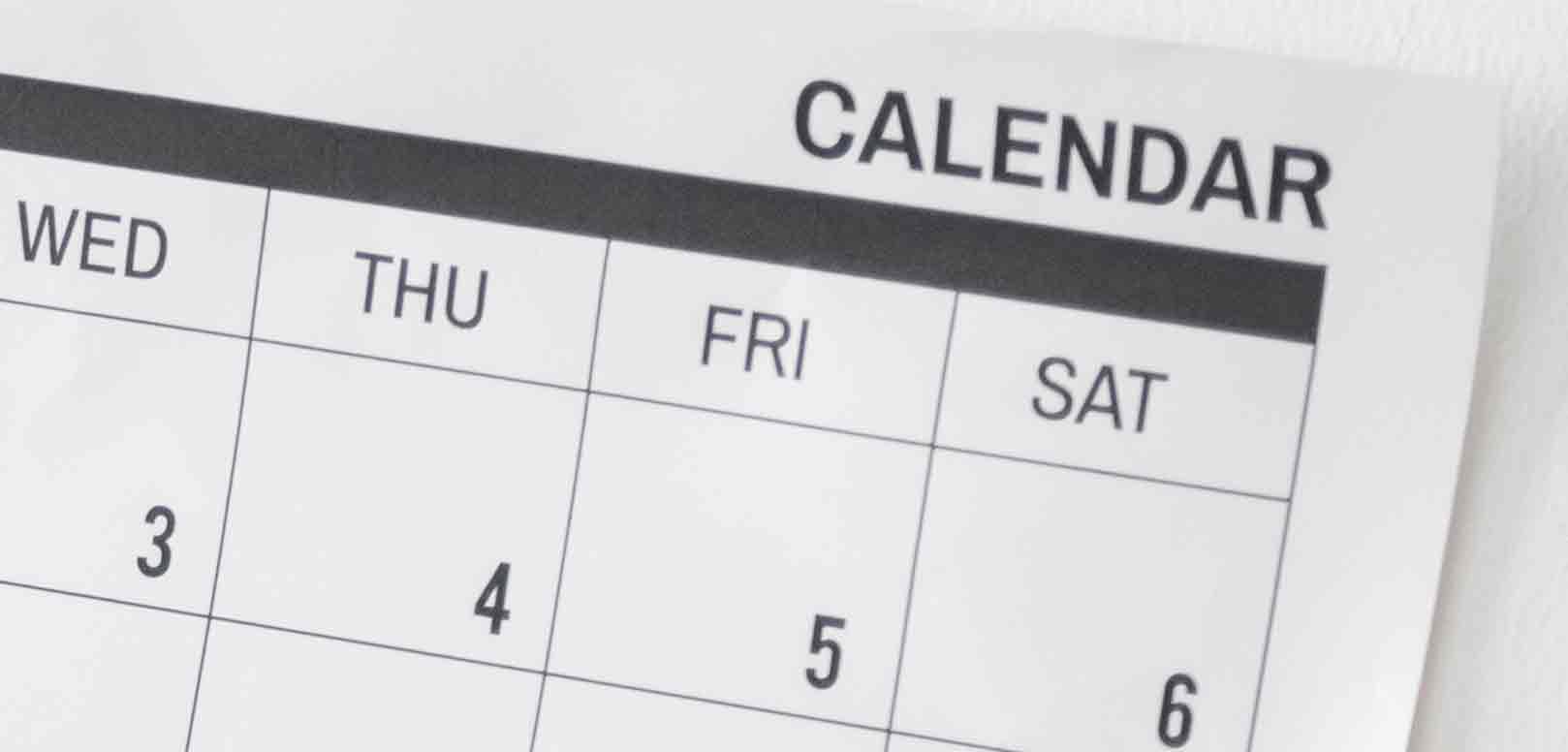 As Estações do Ano e os Dias da Semana e os Meses em Inglês